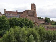 Альби, Albi, собор в Альби, Франция фото