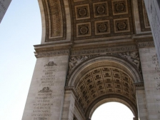 Триумфальная арка, L`Arc de Triomphe, 1812, достопримечательности, музей