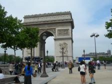 Триумфальная арка, L`Arc de Triomphe, фотографии, Франция, в Париже