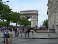 Триумфальная арка, L`Arc de Triomphe, площадь Звезды, картинки, во Франции