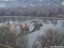 Авиньон, Avignon, фото Франции, города Франции, прованс, мост в Авиньоне