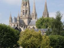 Байо, Bayeux, фотографии Франции, карта Байо