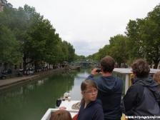 Канал Сен Мартен, Canal Saint-Martin, фото Франции, Париж