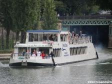 Канал Сен Мартен, Canal Saint-Martin, фотографии Франции, водная прогулка
