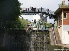 Канал Сен Мартен, Canal Saint-Martin, корабль, прогулка на корабле