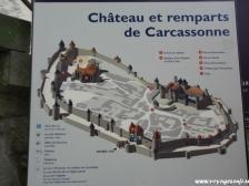 Каркассон, Carcassonne, замок Каркассон, Франция фото