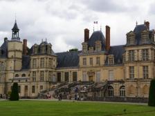 Chateau de Fontainebleau, Замок Фонтенбло, фото Франции, замок