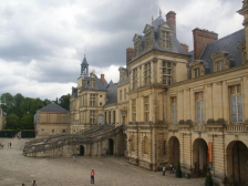 Chateau de Fontainebleau, Замок Фонтенбло, замки Франции, окрестности, лес