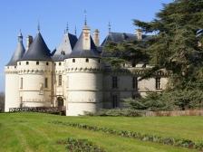 Замок Шомон сюр Луар, Chateau de Chaumont-sur-Loire, фото Франции, замок