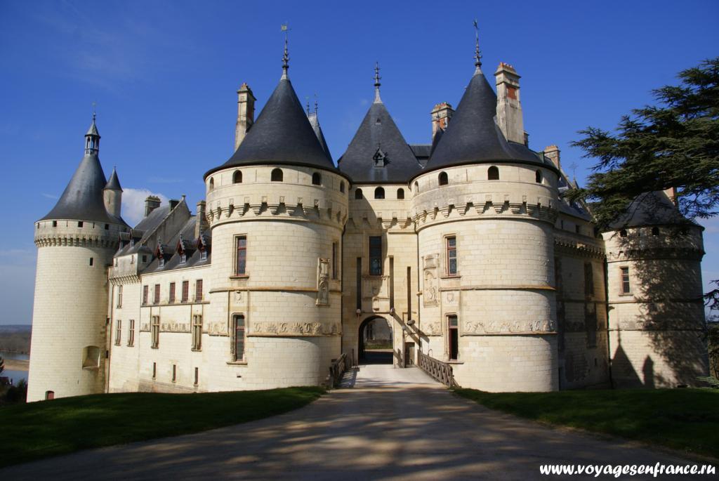Замок Шомон сюр Луар