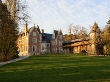 Замок Кло Люсе, Chateau du Clos Luce, Франция фото, замки Франции, достопримечательности
