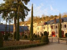 Замок Кло Люсе, Chateau du Clos Luce, Франция фотографии, замки Луары, тур