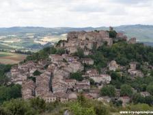 Корд, Сordes sur ciel, фото Франции, города Франции, Гасконь