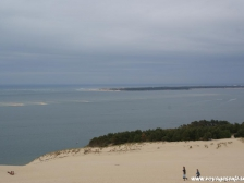 Дюна Пила, Dune du Pyla, фото Франции, города Франции, Аквитания