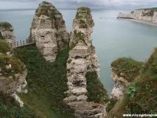 Этрета, Etretat, Франция фотографии, Нормандия, океан
