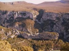 Вердонский каньон, Gorges du Verdon, фотографии Франции, Альпы, озеро