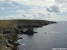 Пуэнт-дю-Ра, La Pointe du Raz, Франция фотографии, Бретань, Атлантический океан