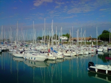 Ла Рошель, La Rochelle, фотографии Франции, осада, форт Баярд