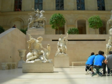 Лувр, Louvre, фотографии, картины, смотреть
