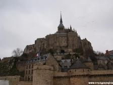 Мон Сен Мишель, Le Mont-Saint-Michel, фото Франции, города Франции, Нормандия