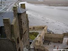 Мон Сен Мишель, Le Mont-Saint-Michel, замок Мон Сен Мишель, Франция фото