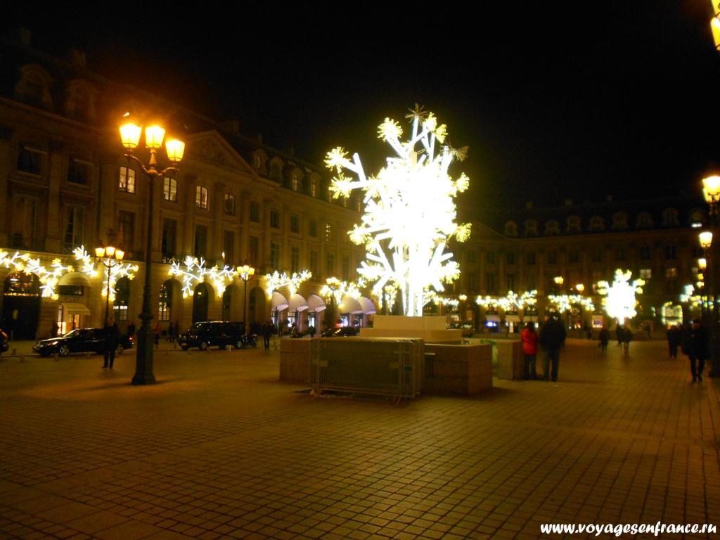 Рождество и Новый год в Париже