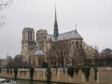 Нотр Дам де Пари, Notre-Dame de Paris, фотографии, Франция, собор, архитектура