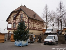 Рикевир, Riquewihr, фото Франции, город, отзывы туристов, рождество