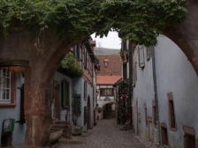 Рикевир, Riquewihr, Франция фотографии, виноделие, Эльзас