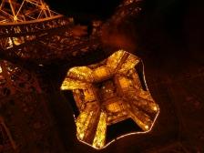 Эйфелева башня, Tour Eiffel, эфилева башня, Густав Эйфель, ночью, смотреть