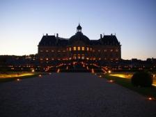 Замок Во-ле-Виконт, Chateau de Vaux-le-Vicomte, фото Франции, города Франции, замок