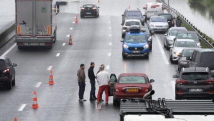 Безопасность на дорогах Франции повысилась