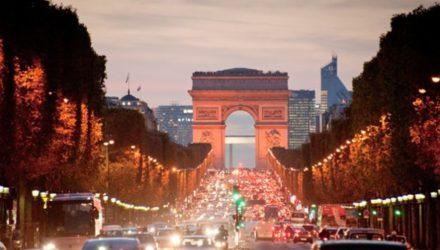 Экономия на ночной подсветке во Франции