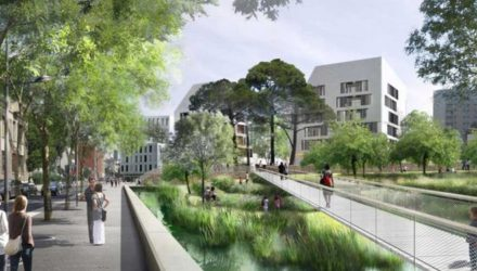 В Париже строят первый экоквартал