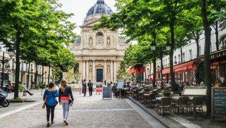 Латинский квартал — самая древняя часть Парижа