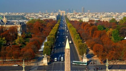 Елисейские поля — главная улица французской столицы