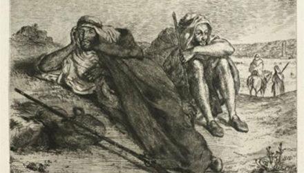 Полотно Эжена Делакруа похищено в Париже