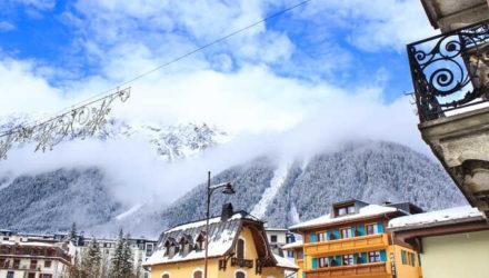 Шамони – лыжное шоу