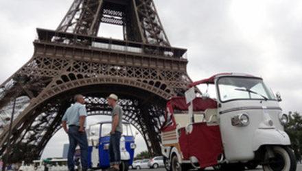 Моторикши в Париже