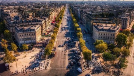 Центр Парижа отдадут пешеходам