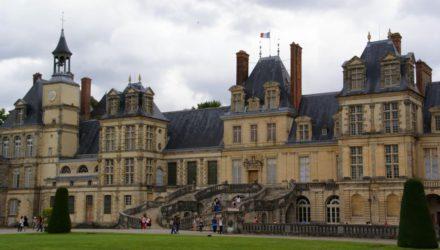 Дворец Фонтенбло (Chateau de Fontainebleau)