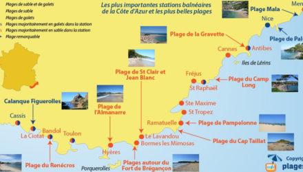 Выбор места проживания в путешествии по Франции