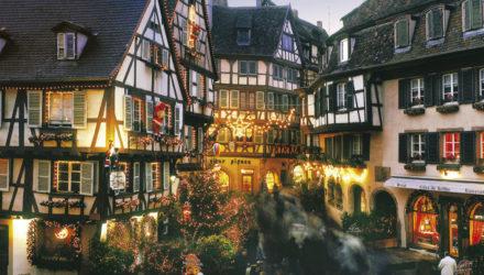 Самые красивые деревни Франции