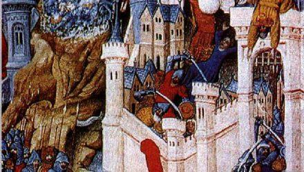 Легенда о Святом Марселе и драконе