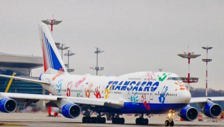 Трансаэро выполнила первый регулярный рейс из Москвы в Париж