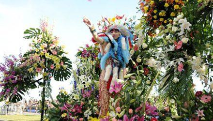 Стартует карнавал в Ницце