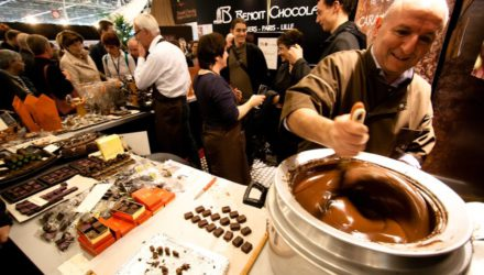 Ярмарка шоколада открылась в Париже 31 октября