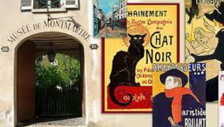 В музее Монмартра в Париже пройдет выставка Le Chat noir