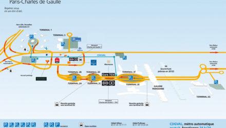 Как добраться из аэропорта Шарль де Голль в Париж
