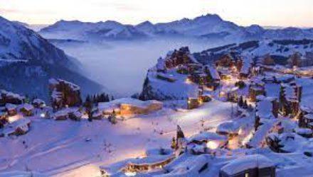 Лыжный отдых во французских Альпах